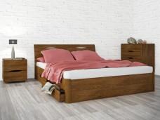 Ліжко Маріта Люкс з ящиками