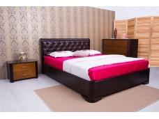 Ліжко Мілена з м'якою спинкою (ромби)