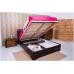 Ліжко Мілена з м'якою спинкою (ромби) 160х200 Розпродаж!